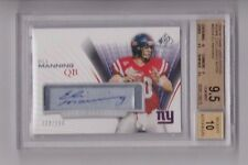 Eli Manning 2004 Sp Game Used RC auto, autograph 4/100 BGS 9.5, auto 10