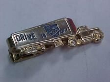 Vintage 1950's Truck Tie Clip Drive IBOFT International Brotherhood of Teamsters