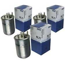 3x MAHLE / KNECHT Kraftstofffilter KL 77 Fuel Filter VW Lupo 6X1 6E1 Seat Arosa