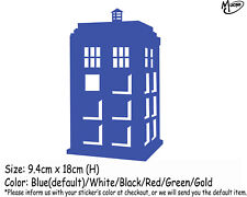 TARDIS Doctor Who Car Sticker Reflective Funny Car Decals Best GiftsS