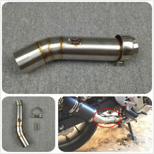 For HONDA CBR500 CBR500R Motorcycle Exhaust Contactor Middle Mid Pipe Connector