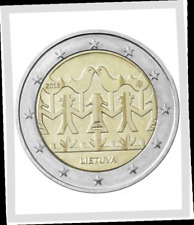 2 EURO *** Lituanie 2018 Lithouwen *** Chants et Danses *** Zang en Dans !!!