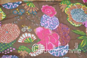 New Screen Fruit Print 3 Yard Indian Craft Sewing Running Loose Material Fabric