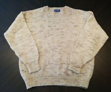 Pendelton 100% Pure Virgin Wool Crew Neck Sweater Large