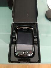 BlackBerry Torch 9800 - 4GB-carbón (Teclado QWERTY O2) Teléfono Inteligente