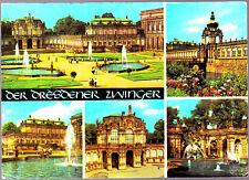 Vintage used Postcard, Germany,  Multiview Dresden,  dr660