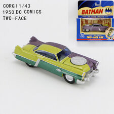 CORGI 1/43 DC Comics Batman 1950 TWO FACE Diecast Car Model Collectible