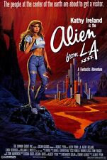 ALIEN FROM L.A. Movie POSTER 27x40 Kathy Ireland William R. Moses Richard Haines