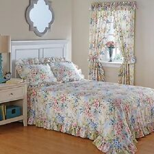 French Countryside Water Colors Bedroom Bed Spread / Curtain /Sham FREE SHIPPING