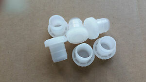 Plastic Wine Bottle Corks / Stoppers Bag of 6 Re-usable
