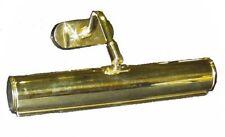 Applique quadro da bagno ottone lucido carter per specchio luce per cornice G