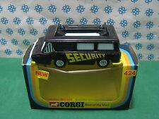 Vintage Corgi Toys 424  -   SECURITY  VAN    -  Made in Gt. Britain 1976
