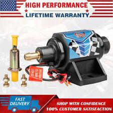 12V Universal Micro Fuel Pump Electric Gas Diesel Inline Low Pressure 5-9PSI 3/8