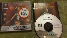 sony playstation tomb raider platinum version ps1 ps2 PAL complete