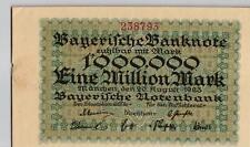 Ro Bay 12 1 millones mark 1923