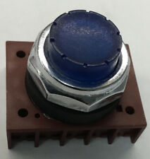 3SB06 Siemens Illuminated Blue Pushbutton Switch Contact Block 30MM Momentary
