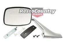 Holden Door Mirror + Stalk + Fitting Kit RIGHT HQ HJ HX HZ WB Torana LH LX UC