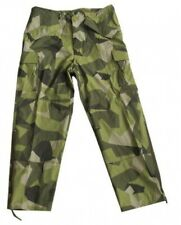 Swedish Tarn M90 Camouflage Cold Weather Ecwcs Moisture Protection Pants Small