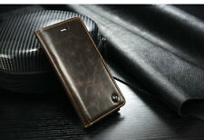 Di Alta Qualità Lusso Vera Pelle Custodia Flip Cover per Apple iPhone 6