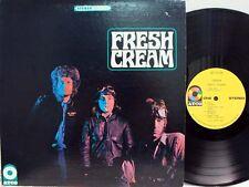 "CREAM - Fresh Cream LP (RARE MGM 2nd US Pressing on ""yellow"" ATCO)"