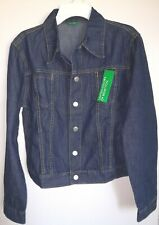 United Colors of Benetton Age 12 Youth XL Blue Jeans Jacket_New with Tag