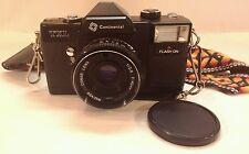 TXL Continental 35mm Camera - Conar Lens 1:28 F=40mm - Rare, HK, Cool Strap!