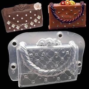 3D Plastic Bag Shoes Design Chocolate Mold Candy Cookie Cake Baking Mould SI