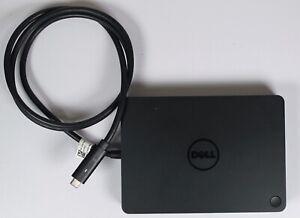 DELL Genuine USB C Docking Station WD15 K17A HDMI Thunderbolt Type C inc PSU