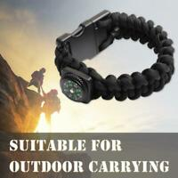 Compass  Bracelet USB Flash Drive Pen Drive USB2.0 U Disk Outdoor Camping Rope