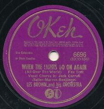 78 - 14BB - DANCE - OKEH 6696 - LES BROWN AND HIS ORCHESTRA