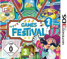 Games Festival 1 Nintendo 3ds, 2013-mercancía nueva -