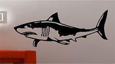 énorme REQUIN POISSON sticker de citation art mural vinyle CHAMBRE D'ENFANT