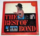 Philippines THE BEST OF BOND MOVIE Soundtrack LP Record