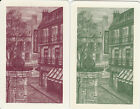Vintage Swap / Playing Cards -2 Single - PARIS COBBLED STREET SCENES