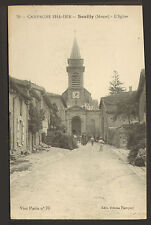 55 SOUILLY CARTE POSTALE EGLISE 1918