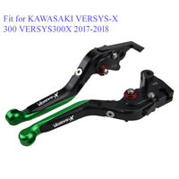 Folding Extendable Brake Clutch Lever Set for Kawasaki Versys-X 300 Versys300X
