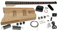 Solo SB Headless Style DIY Bass Guitar Kit, Ash Body, Bolt-on Neck, SBBK-1