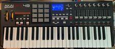 Akai MPK49 USB MIDI keyboard controller