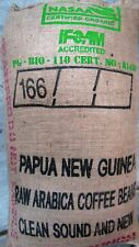 5 lbs Green Un-Roasted Coffee Beans Papua New Guinea Kigabah Peaberry Fast Ship