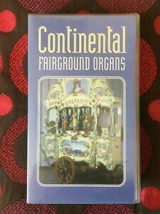 CONTINENTAL FAIRGROUND ORGANS - VHS VIDEO (STREET / DANCE ORGANS)