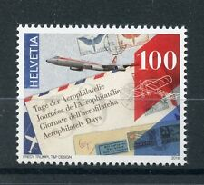 Switzerland 2016 MNH Aerophilately Day 50th Anniv 1v Set Aviation Airmail Stamps