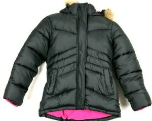 Arizona Jean Company Girls Remove Hood Jackets CO Med 10/12 Polyester Youth