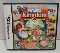 My Sims Kingdom - Nintendo DS  Complete Game With Manual And Case