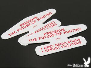 Lot of 2 Vintage Marlin Firearms Co. Safety-Minder IS IT LOADED? Store Hand-Out