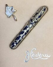 Jean Pierre Lepine Hereda IVY Silver Blue Limited Edition Fountain Pen 0091/1000