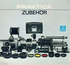VEB Pentacon Dresden Prospekt Praktica Zubehör DDR Kamera 1978