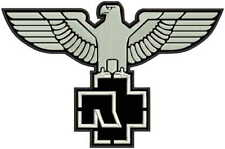 """13"""" RAMMSTEIN eagle embroidered patch"""