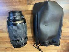Nikon ED lens AF Nikkor 70-300mm 1:4-5.6 D