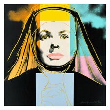 Ingrid Bergman-The Nun by Andy Warhol 54cm x 54cm High Quality Art Print