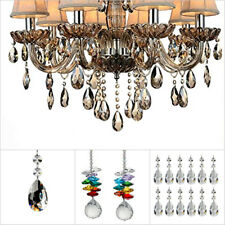 K9 Clear Crystal Lamp Ball Prism Ceiling Light Lamp Chandelier Wedding Decor